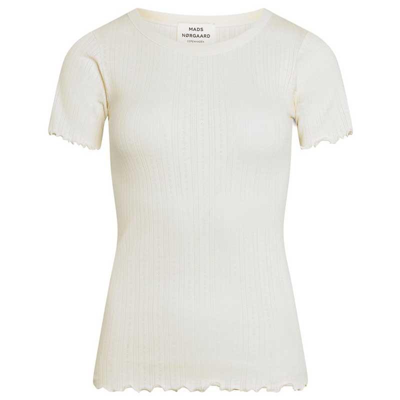 Mads Nørgaard T-shirt, Pointella Trixa, Off White Mads Nørgård t-shirt dame