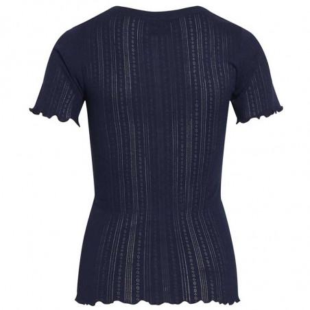 Mads Nørgaard T-shirt, Pointella Trixa, Navy Mads Nørgård t-shirt ryg