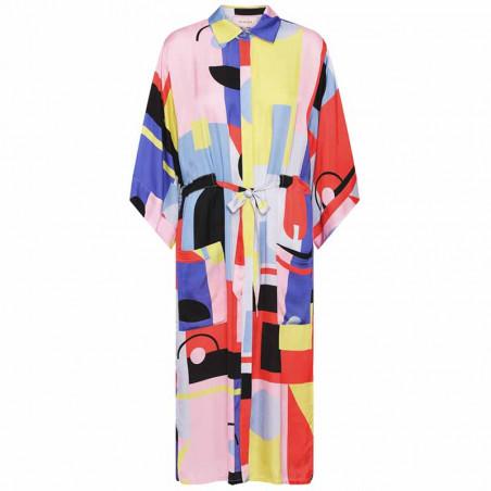 Hunkøn Kimono, Raquel, Square Art Print Hunkøn tøj