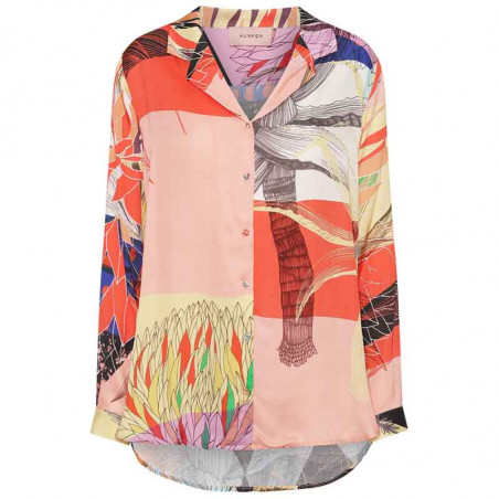 Hunkøn Skjorte, Alicia, Multi Art Print Hunkøn tøj