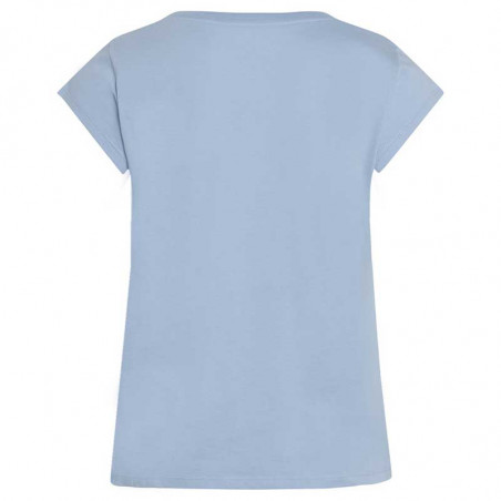 Mads Nørgaard T-Shirt, Teasy Organic Favorite, Forever Blue ryg