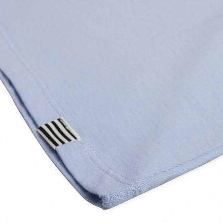 Mads Nørgaard T-Shirt, Teasy Organic Favorite, Forever Blue detalje