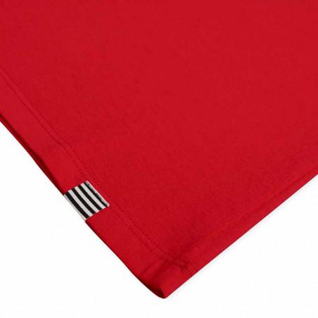 Mads Nørgaard T-Shirt, Teasy Organic Favorite, Fiery Red detalje