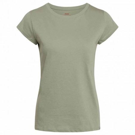 Mads Nørgaard T-Shirt, Teasy Organic Favorite, Light Army