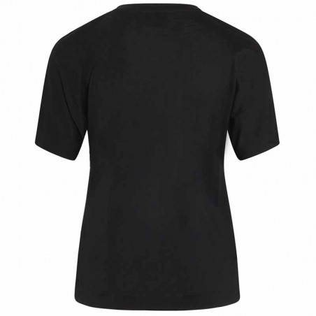 Mads Nørgaard T-Shirt, Trinity Delicate Jersey, Black ryg