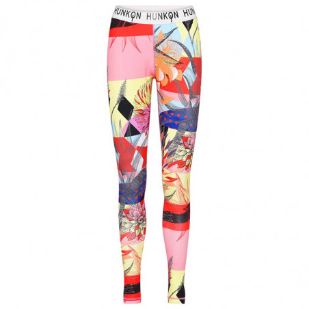 Hunkøn Bukser, Alicia Yoga Legging, Multi Art Print