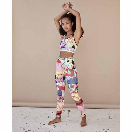 Hunkøn Bukser, Alicia Yoga Legging, Multi Art Print Hunkøn tøj