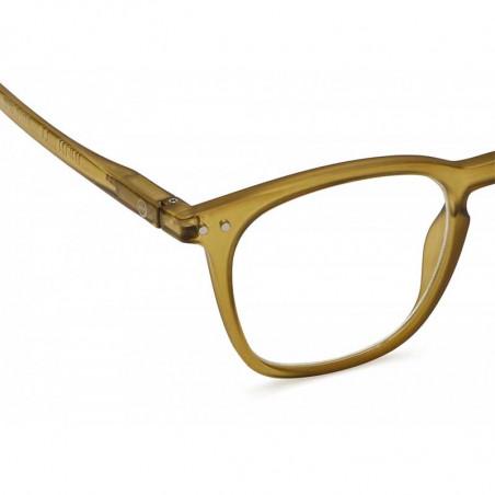 Izipizi Briller, E Reading, Bottle Green izipizi læsebriller detalje