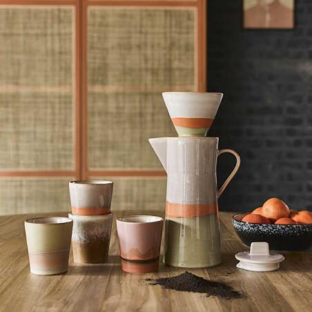 HK Living Kaffetragt, Ceramic 70's Coffee Filter, Saturn Hk Living forhandler København Mood photo