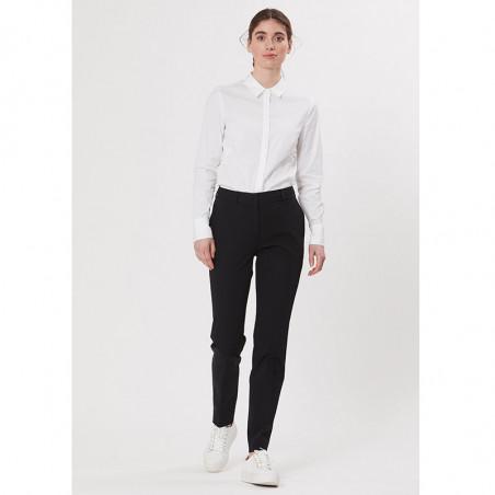 PBO Bukser, Beck Long Pants, Black PBO basic tøj til kvinder på model