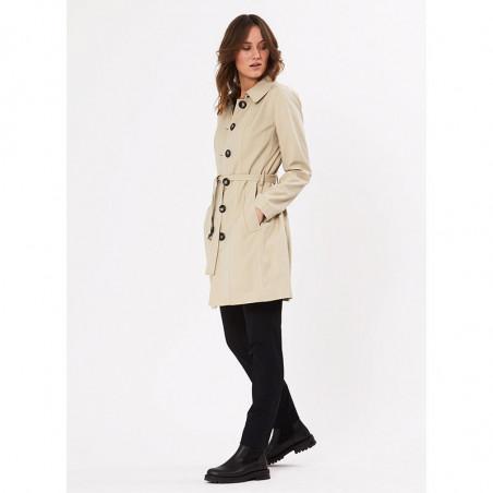 PBO Frakke, Liva Coat, Feather PBO trenchcoat fra siden