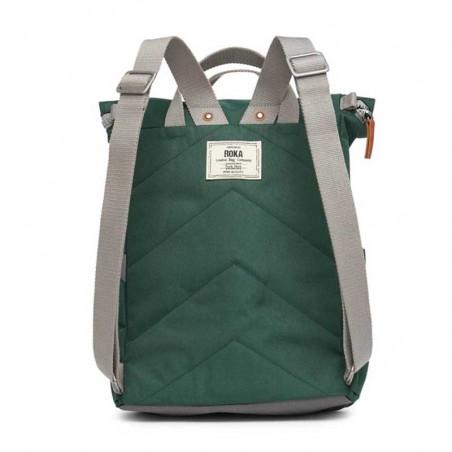 Roka Rygsæk, Finchley A Sustainable, Medium, Forest Roka London Bæredygtig rygsæk bagside