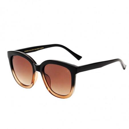 A Kjærbede Solbriller, Billy, Black/Brown Transparent side