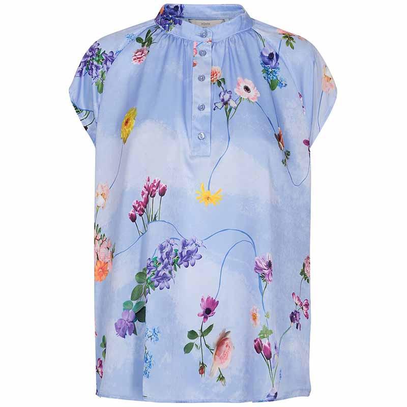 Nümph Bluse, Nucuba blouse, Wedgewood Numph top