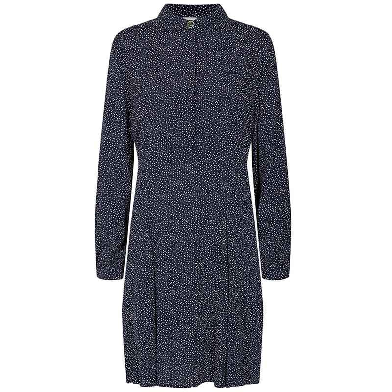 Nümph Kjole, Nucortney Dress, Dark Sapphire Numph kjole