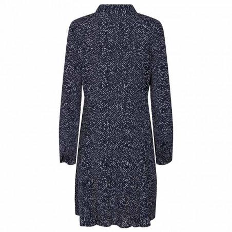 Nümph Kjole, Nucortney Dress, Dark Sapphire Numph kjole ryg