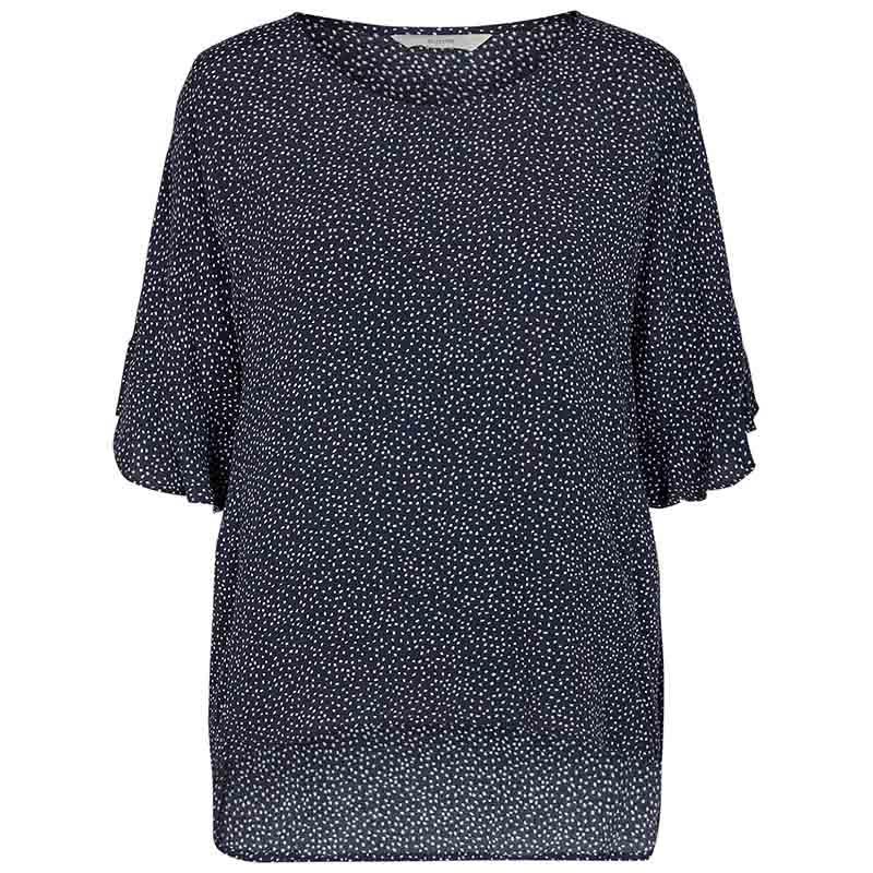 Nümph Bluse, Nucourtney blouse, Dark Sapphire Numph top
