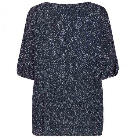 Nümph Bluse, Nucourtney blouse, Dark Sapphire Numph top bagfra
