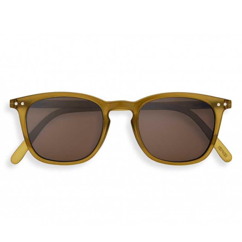 Izipizi Solbriller, E Sun, Bottle Green, briller fra Izipizi, solbriller med firkantede glas, Izipizi forhandler København