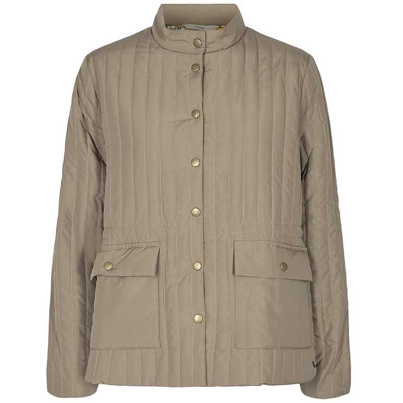 Nümph Jakke, Nusandy, Tannin Numpg vatteret forårsjakke - quilt jakke - kort numph jakke