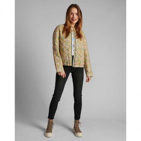 Nümph Jakke, Nufleur, Aquifer Numph quilt jakke - forårsjakke  vatteret jakke kort nûmph jakke på model look