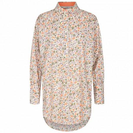 Nümph Skjorte, Nucharlotta, Brazillian Sand numph bluse - blomstret skjorte fra Nümph