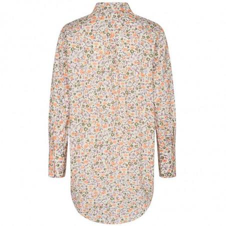 Nümph Skjorte, Nucharlotta, Brazillian Sand numph bluse - blomstret skjorte fra Nümph ryg
