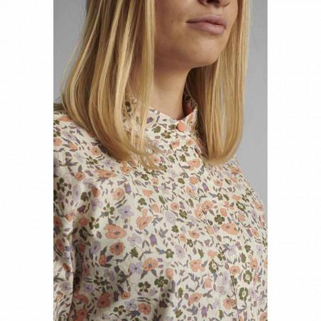 Nümph Skjorte, Nucharlotta, Brazillian Sand numph bluse - blomstret skjorte fra Nümph detalje