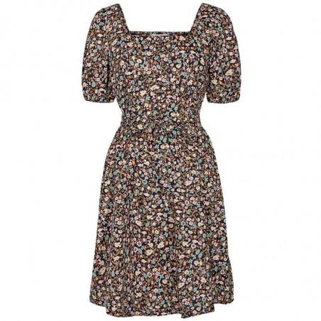 Nümph Kjole, Nucharlotta, Dark Sapphire Numph sommerkjole Nümph blomstret kjole