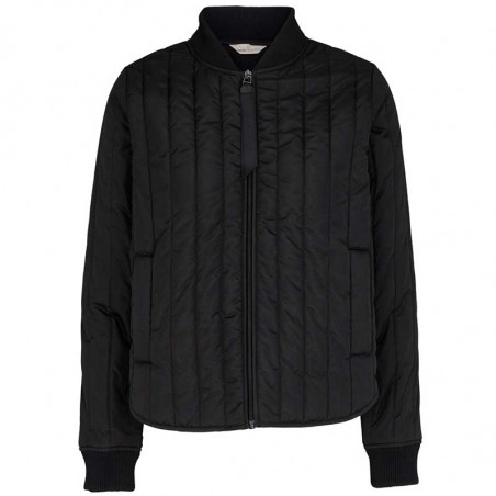 Basic Apparel Jakke, Louisa Short jacket, Black Basic Apparel overtøj