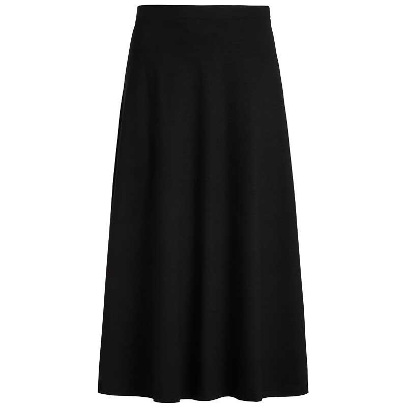 King Louie Nederdel, Juno Classic ecovero skirt, Black King Louie klassisk nederdel