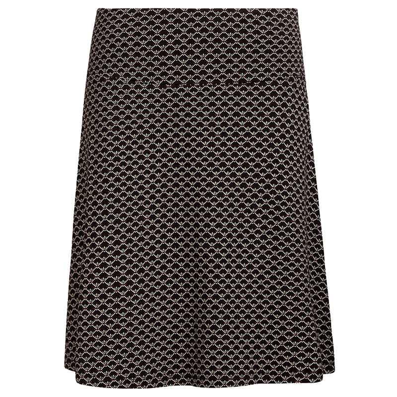 King Louie Nederdel, Border skirt Fresno, Black print