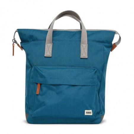 Roka Rygsæk, Bantry B Sustainable Medium, Marine, roka backpack, roka taske, petrol rygsæk