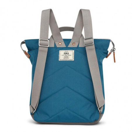 Roka Rygsæk, Bantry B Sustainable Medium, Marine, roka backpack, roka taske, bagfra