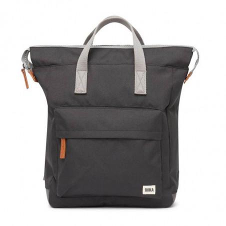 Roka Rygsæk, Bantry B Sustainable Medium, Ash, roka backpack, roka taske, sort rygsæk