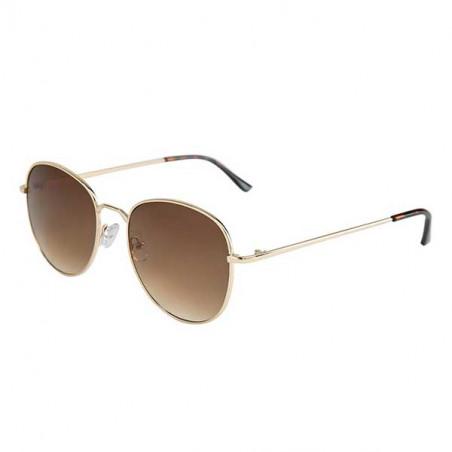 Nümph Solbriller, Nualonae, Gold/Brown, solbriller fra Nümph, aviator solbriller, guld solbriller