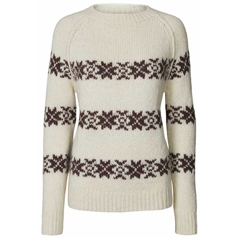 Lollys Laundry Strik, Tommy Jumper, Creme LollysLaundry sweater pullover
