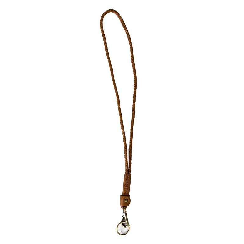 ReDesigned Nøglering, Meva Urban, Walnut, keyhanger, brun læder, nøglering fra redesgined