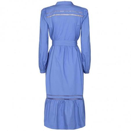 Nümph Kjole, Nucherie, Wedgewood Numph kjole i økologisk bomuld ryg