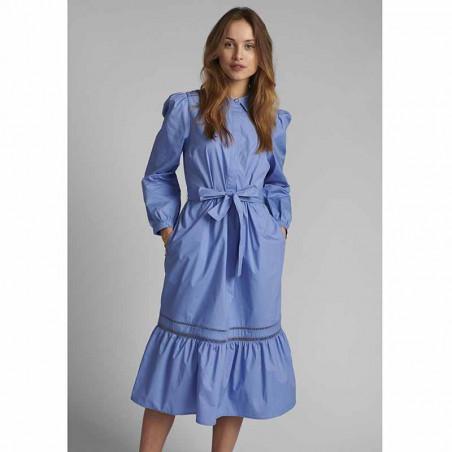 Nümph Kjole, Nucherie, Wedgewood Numph kjole i økologisk bomuld på model