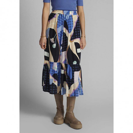 Nümph Nederdel, Nucasey, Dark Sapphire Numph nederdel på model