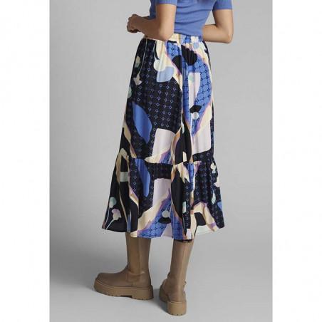Nümph Nederdel, Nucasey, Dark Sapphire Numph nederdel på model bagfra
