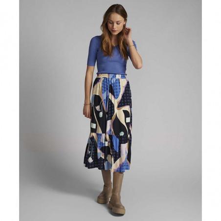 Nümph Nederdel, Nucasey, Dark Sapphire Numph nederdel på model look