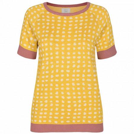 Nümph Bluse, Nycaitlyn Tee, Snapdragon Numph bluse Strikbluse med lurex