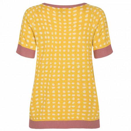 Nümph Bluse, Nycaitlyn Tee, Snapdragon Numph bluse Strikbluse med lurex ryg