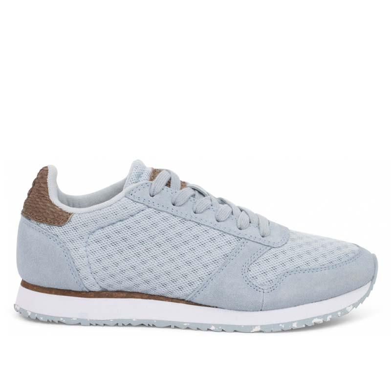 Woden Sneakers, Ydun Suede Mesh II, Ice Blue Woden mesh sneakers