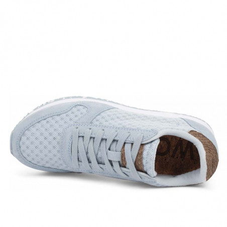 Woden Sneakers, Ydun Suede Mesh II, Ice Blue Woden mesh sneakers top