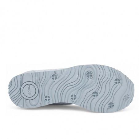 Woden Sneakers, Ydun Suede Mesh II, Ice Blue Woden mesh sneakers slidstærk sål