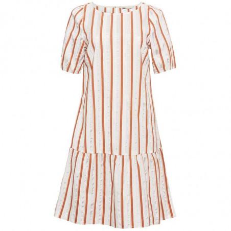 PBO Kjole, Pufti Dress, Rosa Stripe Pbo forhandler København
