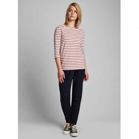 Nümph T-shirt, Nudaia, Ash Rose Numph stribet t-shirt numph bluse look